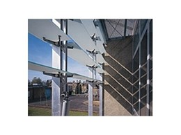 Automatic sun tracking solar shading louvre systems available from Colt Tollfab