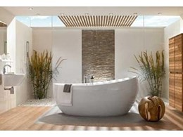 Aveo freestanding baths by Villeroy & Boch available from Just Bathroomware