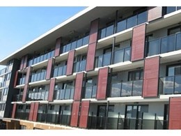 Axi Lume balustrade systems from Axiom Design installed for prestige apartment building in Abbottsford