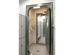BSL4 bio containment doors from The Sealeck group for stringent containment requirements