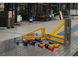 Balustrade fabricator's new demmeler work tables remove guesswork and increase accuracy