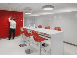 Baresque launches IdeaPaint CLEAR transparent paint as a whiteboard solution