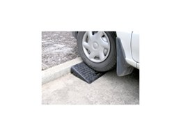 Barrier Security Products introduce Rubber Kerb ramps