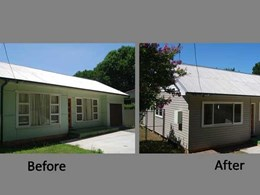 Home gets a budget friendly exterior makeover with Duratuff Select vinyl cladding
