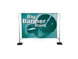 Big Banner Stand signage available from National Sign Systems
