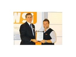 Blum recognised for supplying hardware and boring machines to TAFE N.S.W
