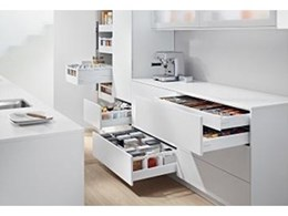 Blum to display fittings solutions for everyday kitchen use at Sydney Indesign