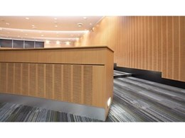 Boardcoustiq acoustic boards available from George Fethers and Company
