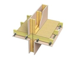 Boral Multiframe construction system provides a lightweight option for apartment buildings