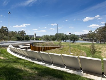 National Award for Urban Design—Lennox Bridge Portals (NSW) by Hill Thalis Architecture + Urban Projects. Photography by Brett Boardman