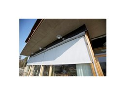 Brava drop down awnings available from Turnils Australia