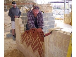 Bricklaying provides a path for a career in building according to the Australian Brick and Blocklaying Training Foundation
