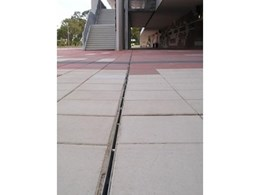 Brickslot from ACO Polycrete specified for WA Athletics Stadium for discrete drainage
