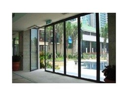 Bring that beautiful exterior view indoors with Hufcor operable glass walls