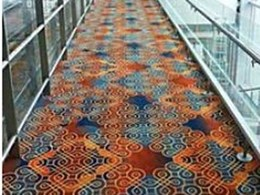 Brintons Axminster carpet custom designed for Bengaluru International Airport
