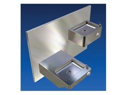 Britex offers Dado double square stainless steel drinking fountains