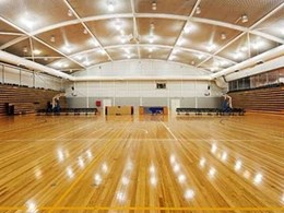 Britton Tasmanian Oak features on flooring at two Melbourne sports stadiums