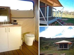 Bush retreat owner installs eco toilet for complete nature experience