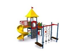 CAPITAL Childrens Playground Equipment available from Moduplay