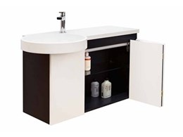 CB10 semi recessed washbasin and vanity from Minosa Gallery