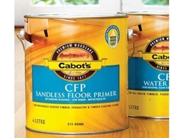 CFP sandless flooring systems from Cabot's