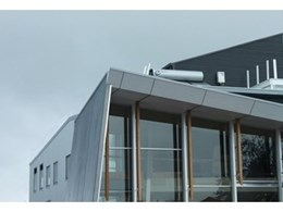 COLORBOND steel with thermatech technology from BlueScope Steel used for NMIT's Green Skills Centre
