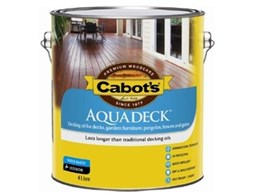Cabot's Makes Decking Even Easier with New Aquadeck Water-Based Decking Oil