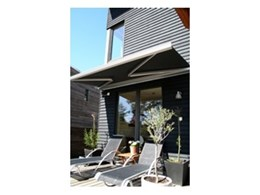 Cabrera folding arm awnings from Turnils Australia