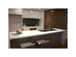 Caesarstone quartz surfaces used in Sydney's luxurious Kings Apartments