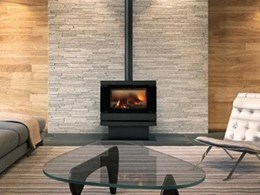 Cannon's freestanding gas log heater collection makes an impact
