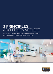 3 principles you must consider before specifying windows and doors