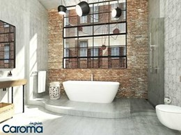 Caroma Contura delivers signature style to baths, basins and toilets
