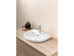 Caroma Cosmique basins bring affordable style to the bathroom