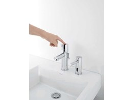 Caroma G-Series electronic tapware combines clever design and technology