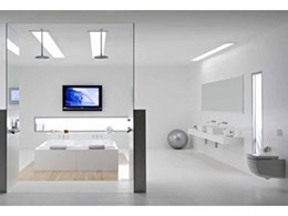 Caroma extends stunning Newbury range of baths and spa baths