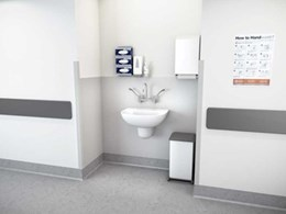 Caroma launches Care 600 wall basins for the healthcare market