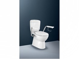 Caroma offers support with new range of armrests for its toilet suites