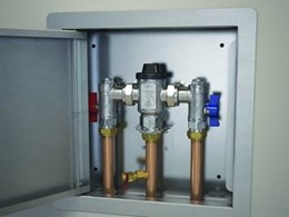Caroma thermostatic mixing valve benchmarks reliable functionality and safety