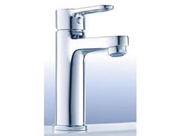 Caroma unique Cirrus mixer taps for the bathroom, kitchen and laundry