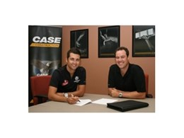 Case Construction Equipment teams up with V8 Supercar driver