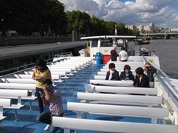 Case study: Crown River Cruises UK selects aluminium seats from BAB Aluminium