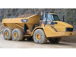 Cat 740 articulated trucks now available from WesTrac