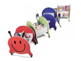 Caterpillar activity centre children's furniture from Raeco