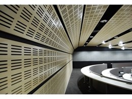 Ceilector launches acoustic slotted timber ceilings range