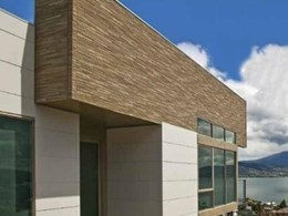 Cemintel's new pre-finished external wall cladding saves builder time