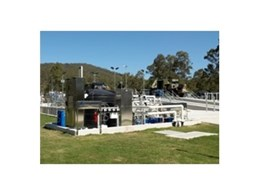 Central vehicle wash down water recycling system from Clearmake installed at the Department of Defence's Enoggera Barracks