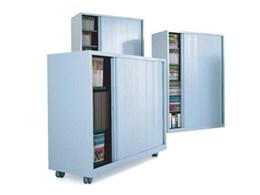 Centurion tambour door cabinets from Bosco Storage Solutions