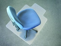 Chair mats from the General Mat Company