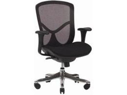 Chairs & All provides new Carmen mesh back synchronised chair