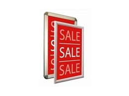 Changing Signage Displays is Easy with Snap Frames